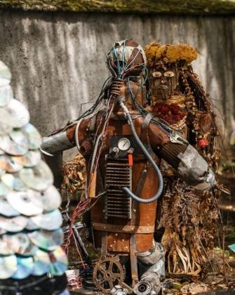 hulladékszobor