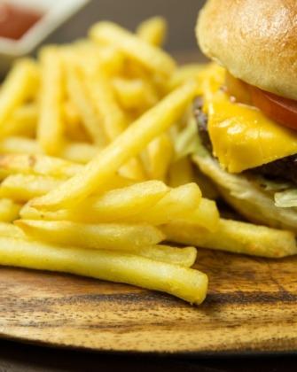 egészségtelen étel