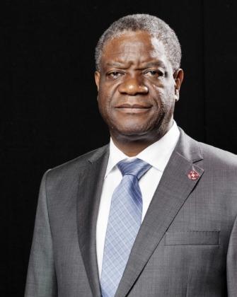 Denis Mukwege kongói sebész-nőgyógyász