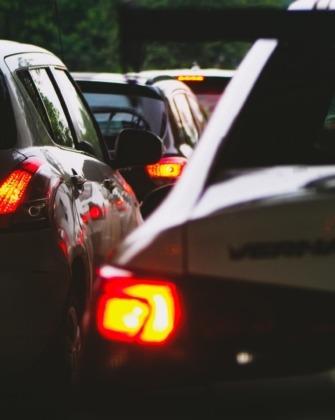 közlekedési dugó