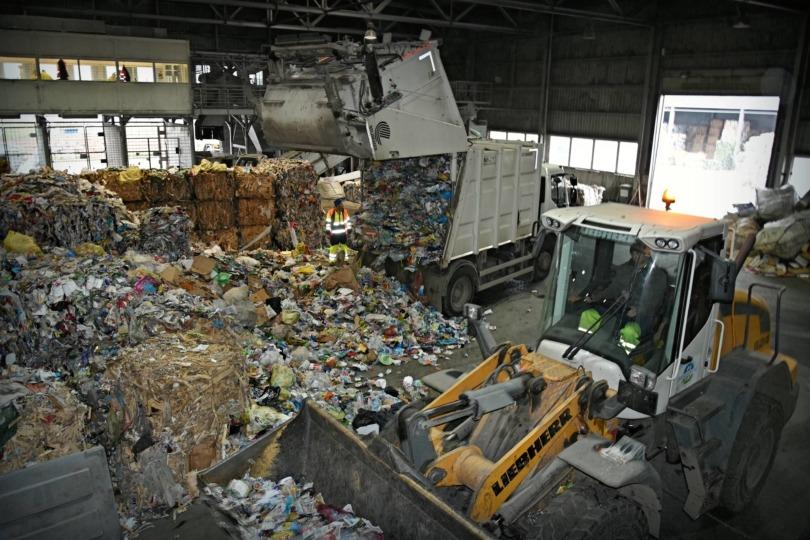 hulladékválogató
